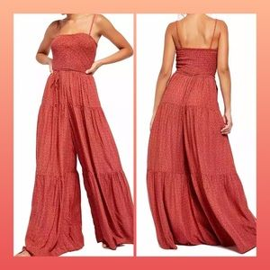NWT $148 FREE PEOPLE little of your love jumpsuit